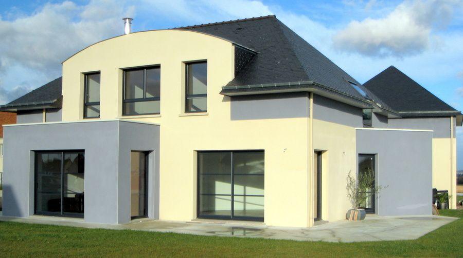 grande maison toit 4 pentes modeles de maisons pinterest grandes maisons maisons. Black Bedroom Furniture Sets. Home Design Ideas