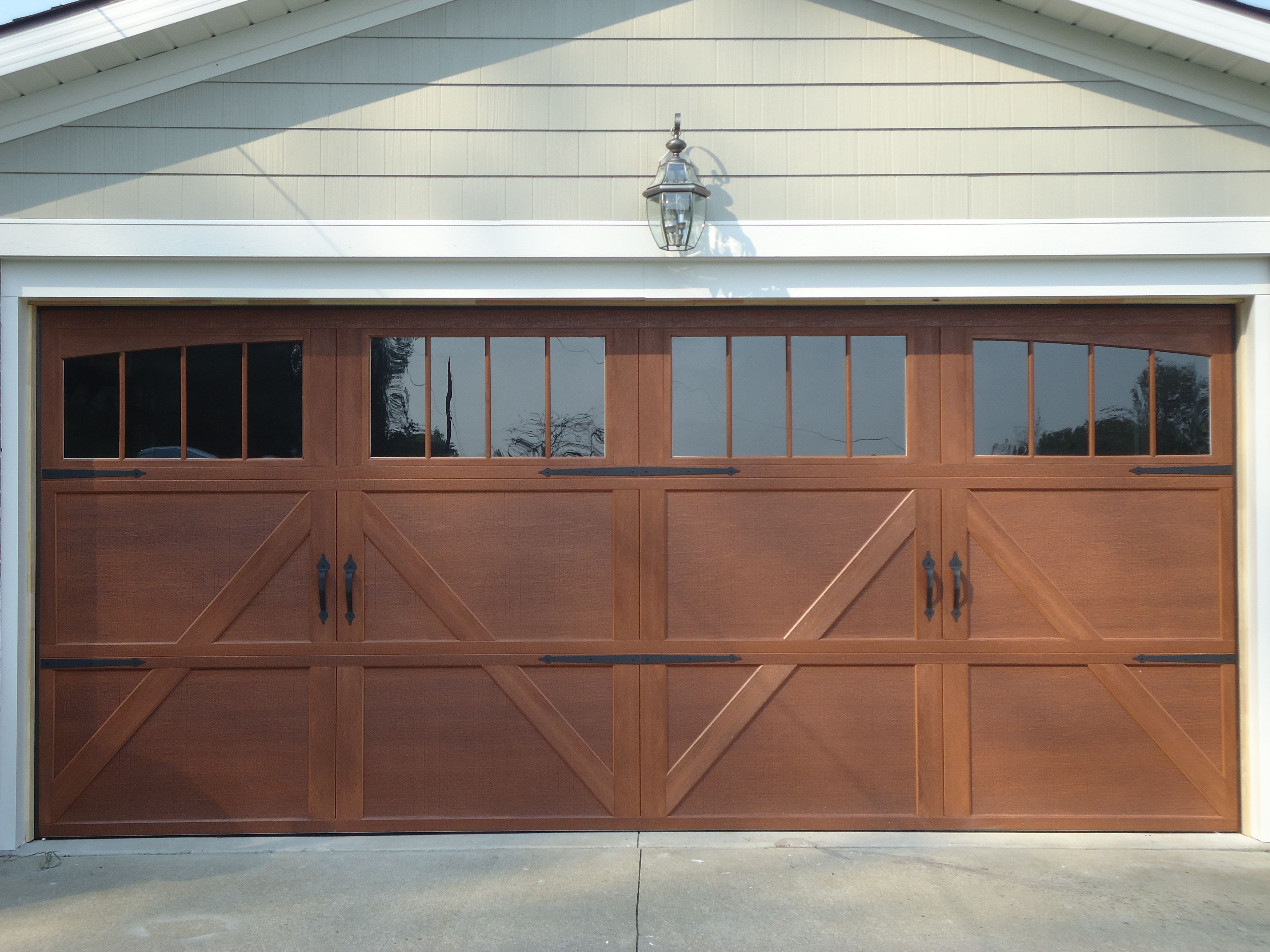 Our new garge door wayne dalton garage door honduran for Wayne dalton garage doors