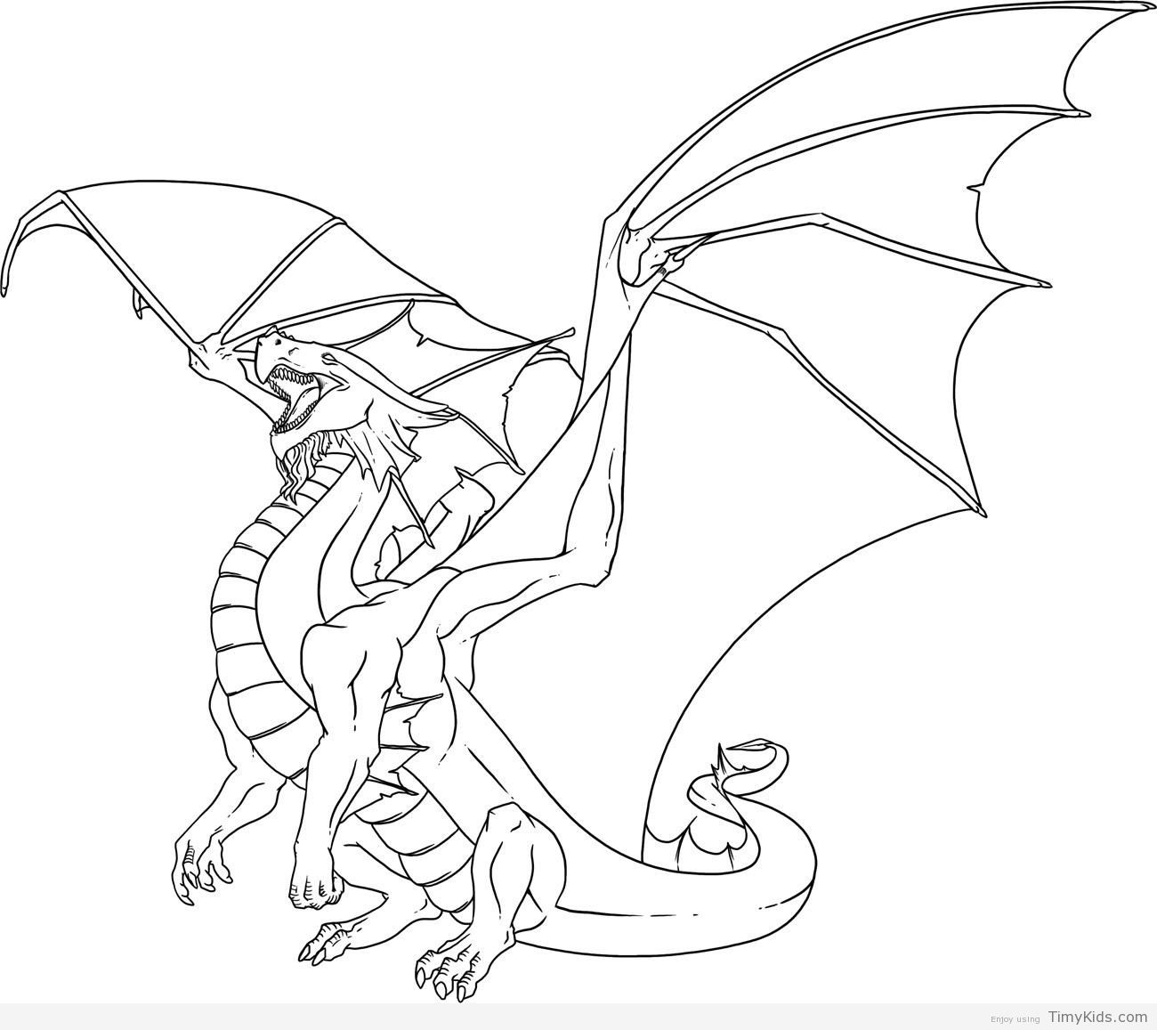 http timykids com dragon coloring pages for kids html