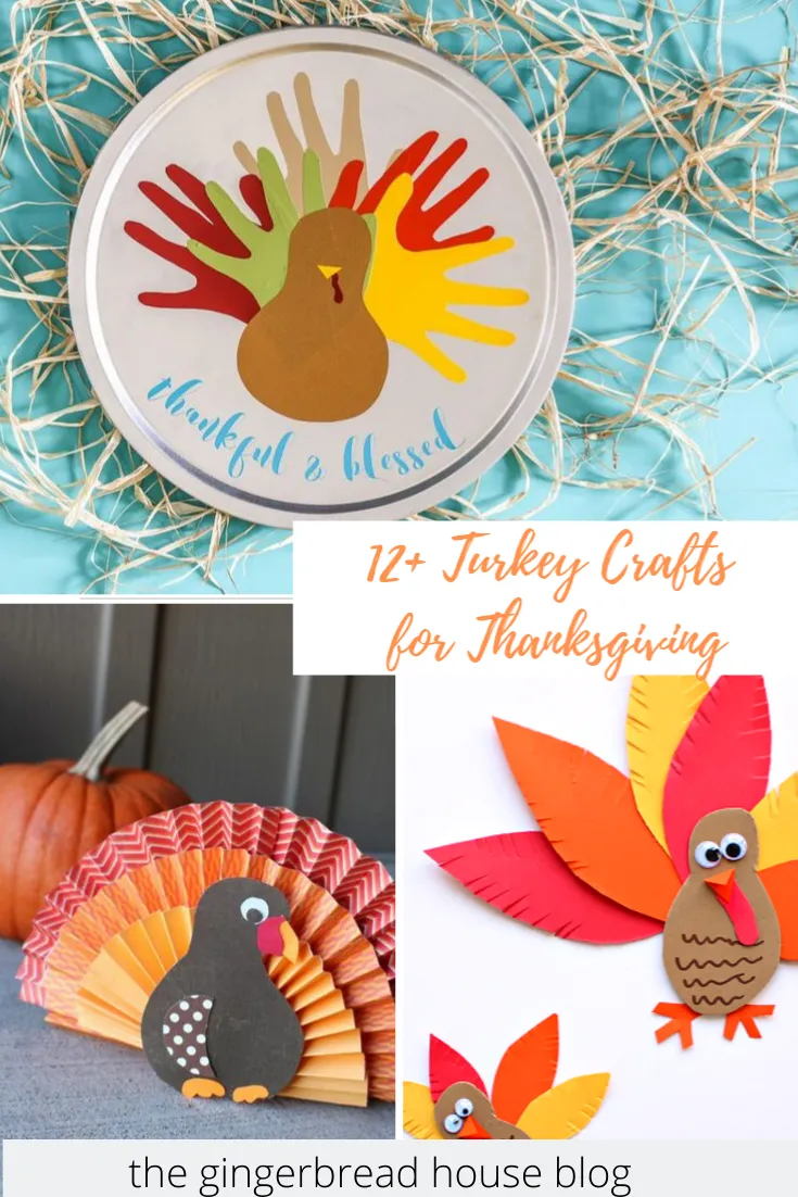12 Turkey Crafts For Kids The Gingerbread House Co Uk In 2020 Turkey Crafts Crafts For Kids Fun Thanksgiving Crafts