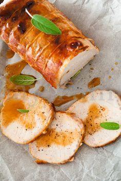 Arista Al Forno Alla Senape Ricetta Di Say Yummy Ricette Pasti Italiani Ricette Di Cucina