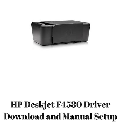 HP Deskjet F4580 Driver Download and Manual Setup | HP