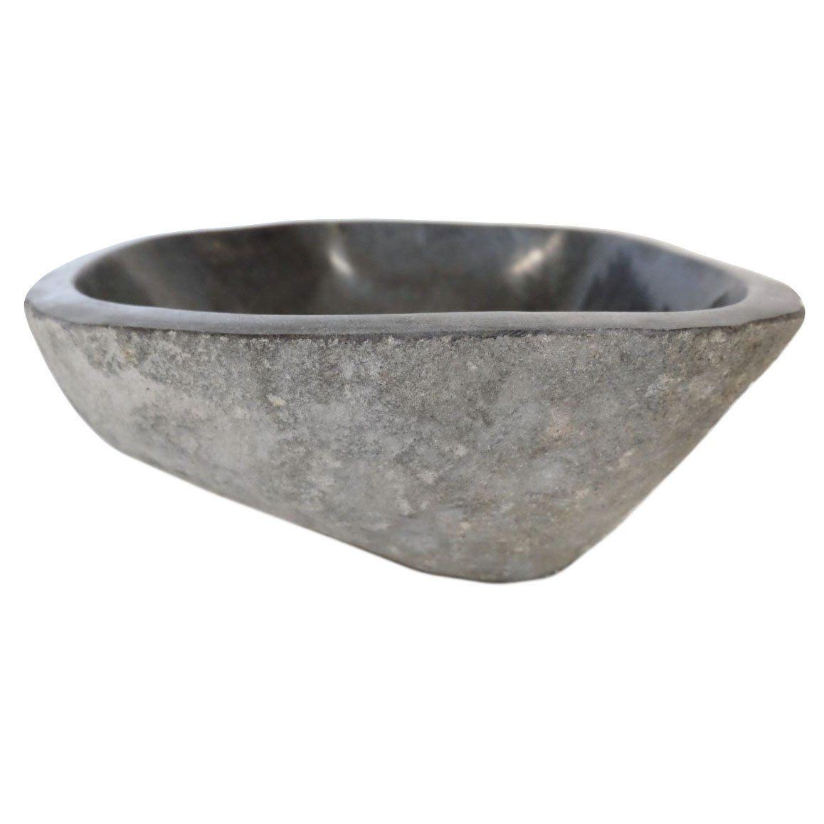 Tashmart Tm002 Rope Natural Stone Vessel Sink Afyon Noce