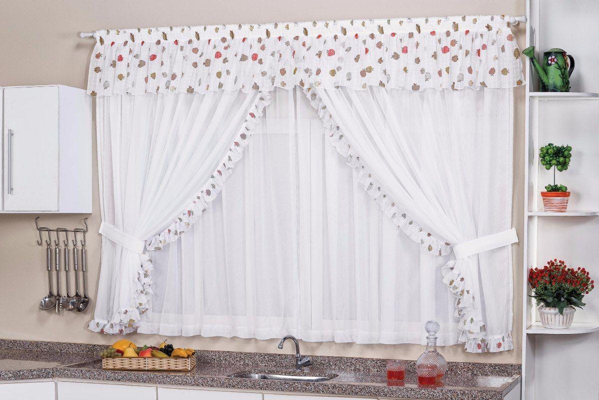 Cortina Para Cozinha Romantica