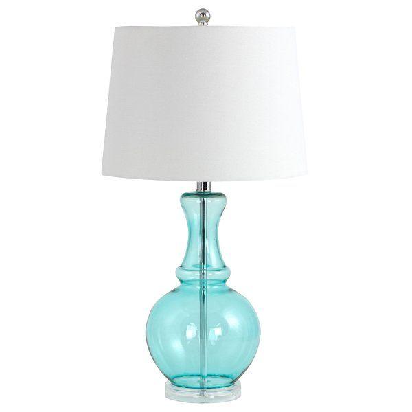Aspire Sabine 26 Table Lamp Reviews Wayfair Lamp Glass Table Lamp Table Lamp