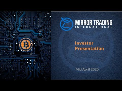 International bitcoin trading platform