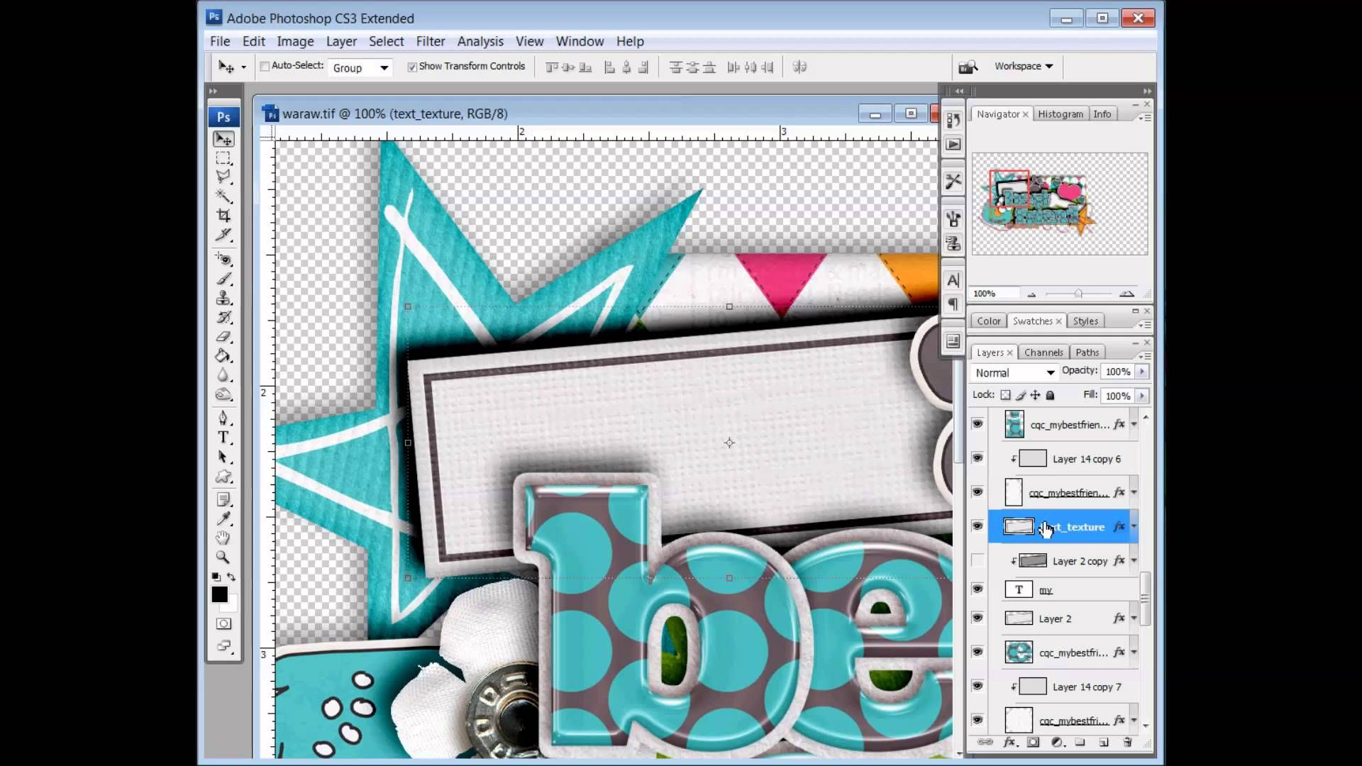 How to Add Texture to Text | Meagan's Creations | Scrapbook