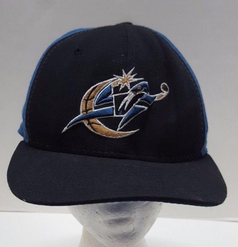 f10af67b18021 Vtg NBA Washington Wizards DC Hat Fitted 7-3 8 Embroidered Baseball Cap NEW  ERA  NewEra  WashingtonWizards