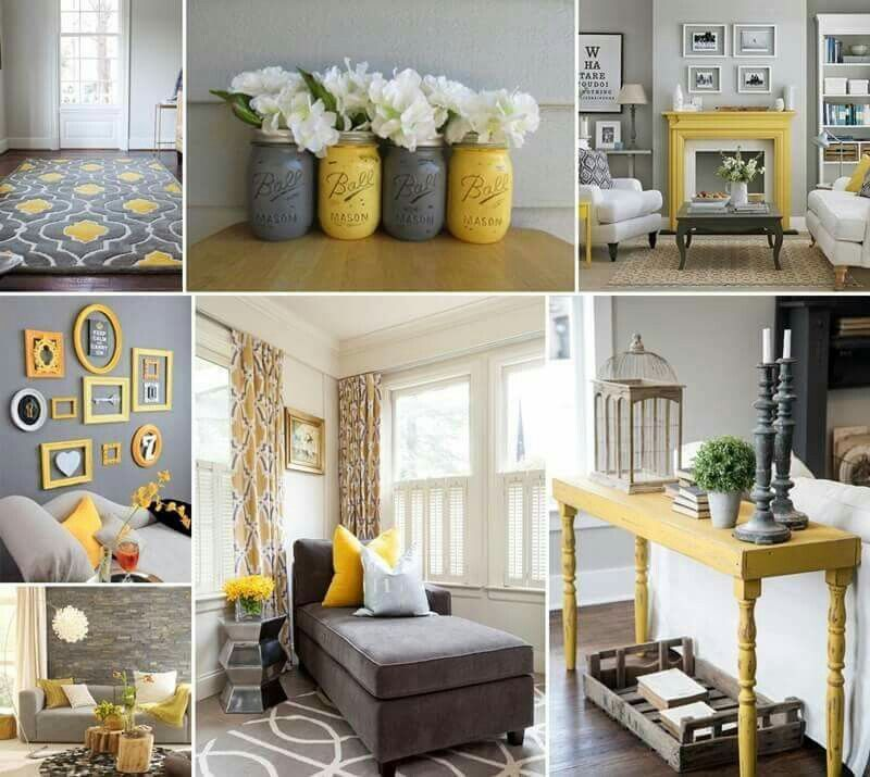 Living Room Accessories Yellow