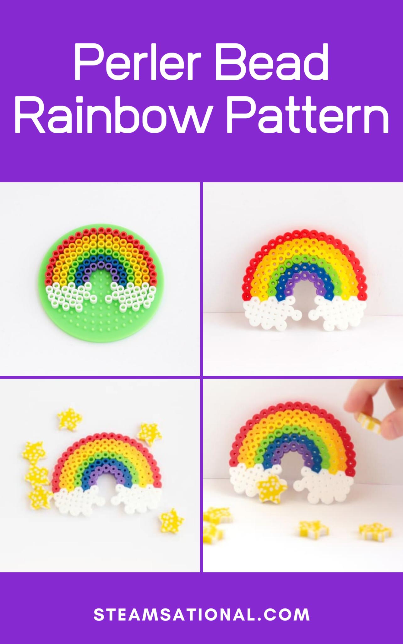 Build A Perler Bead Rainbow Engineering Challenge In