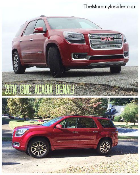 Car Review 2014 Gmc Acadia Crossover Suv Denali Trim With