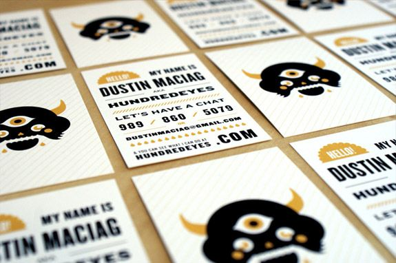 100 Awesome and Original Business Cards from Designers