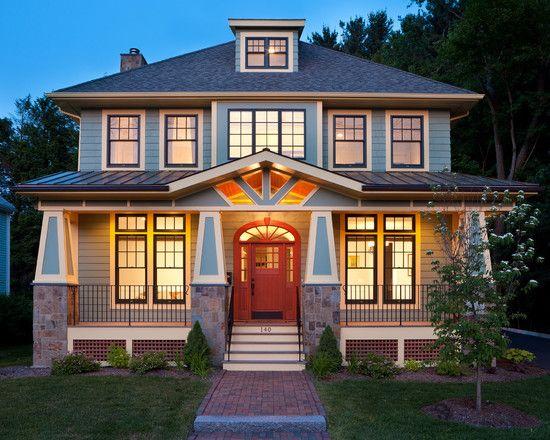 Craftsman Exterior House Design. Exterior Craftsman Design, Pictures,  Remodel, Decor And Ideas