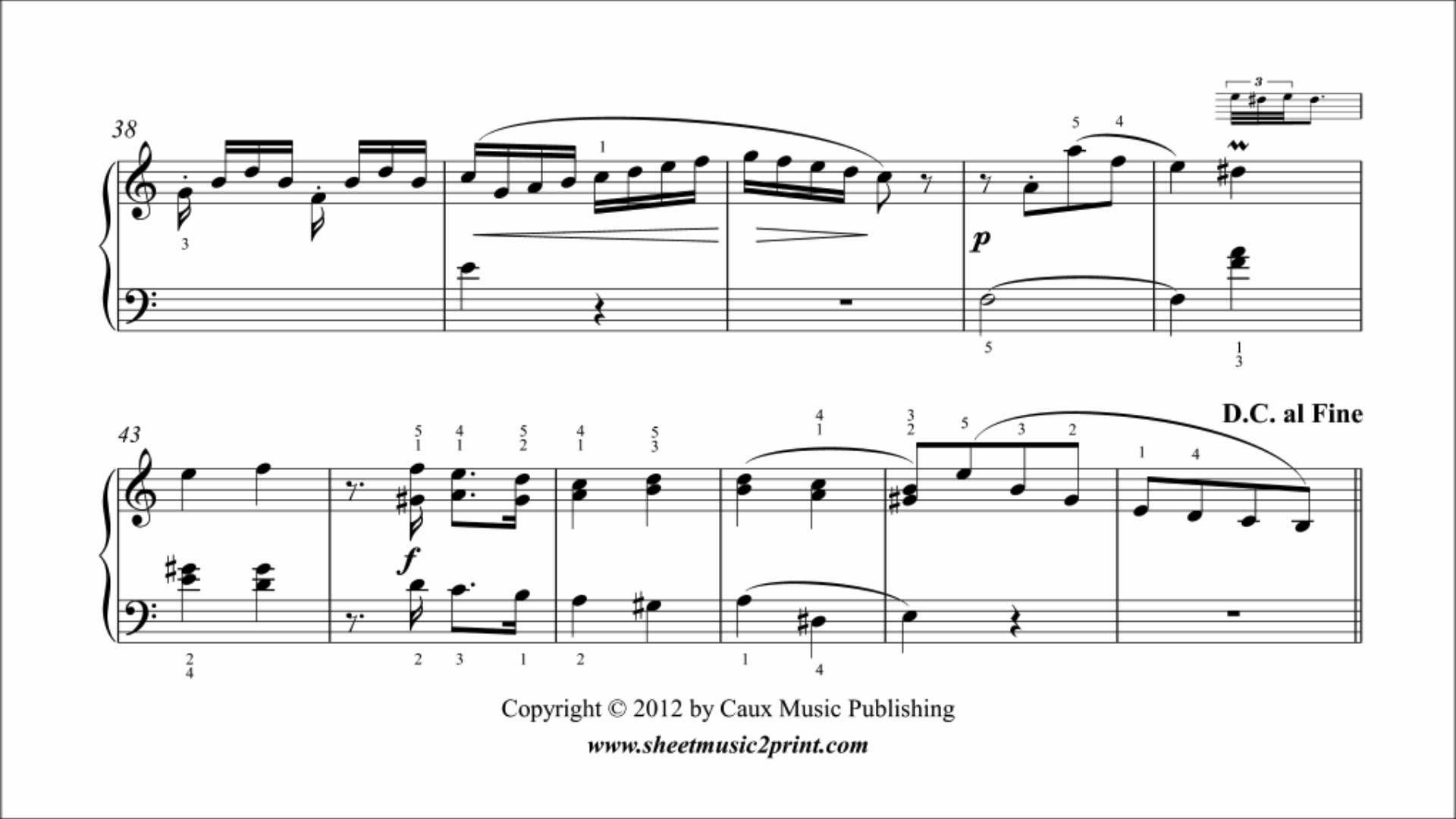 Benda : Sonatina in A minor for Piano - YouTube | Jukebox #4