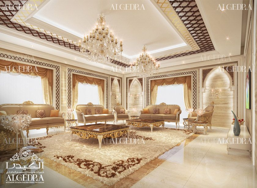 Men Majlis Interior Design By Algedra Majlis Design Services My Unique Arabic Majlis Interior Design