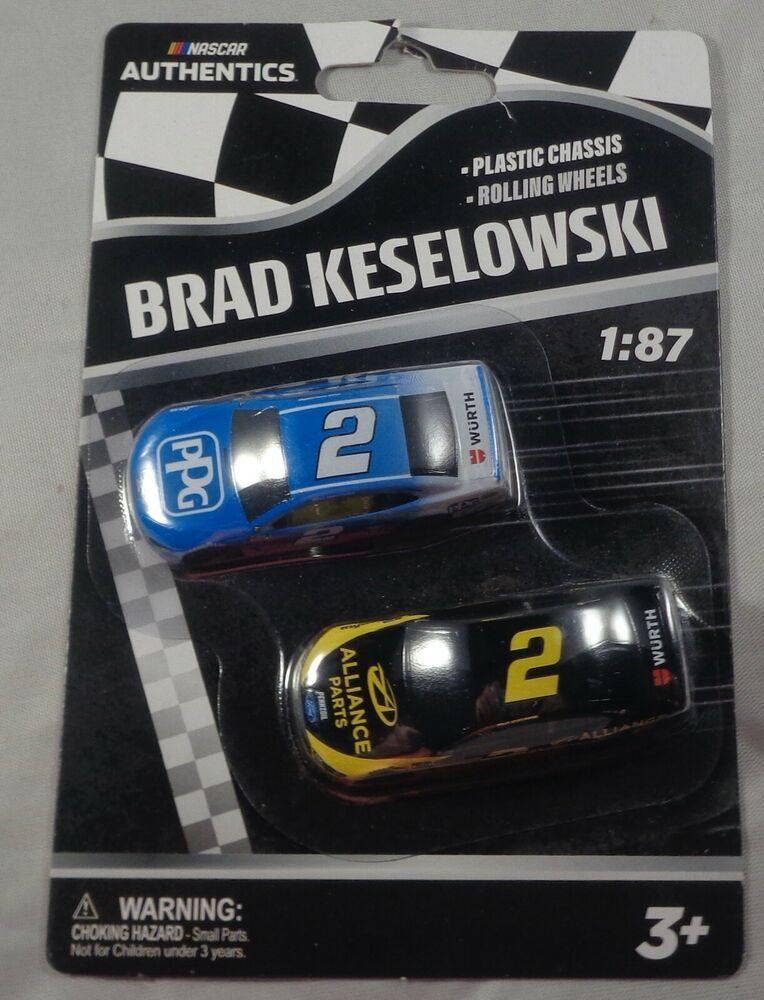 2019 Wave 1 #12 Ryan Blaney PPG #21 Paul Menard 1//87 NASCAR Authentics Twin Pack