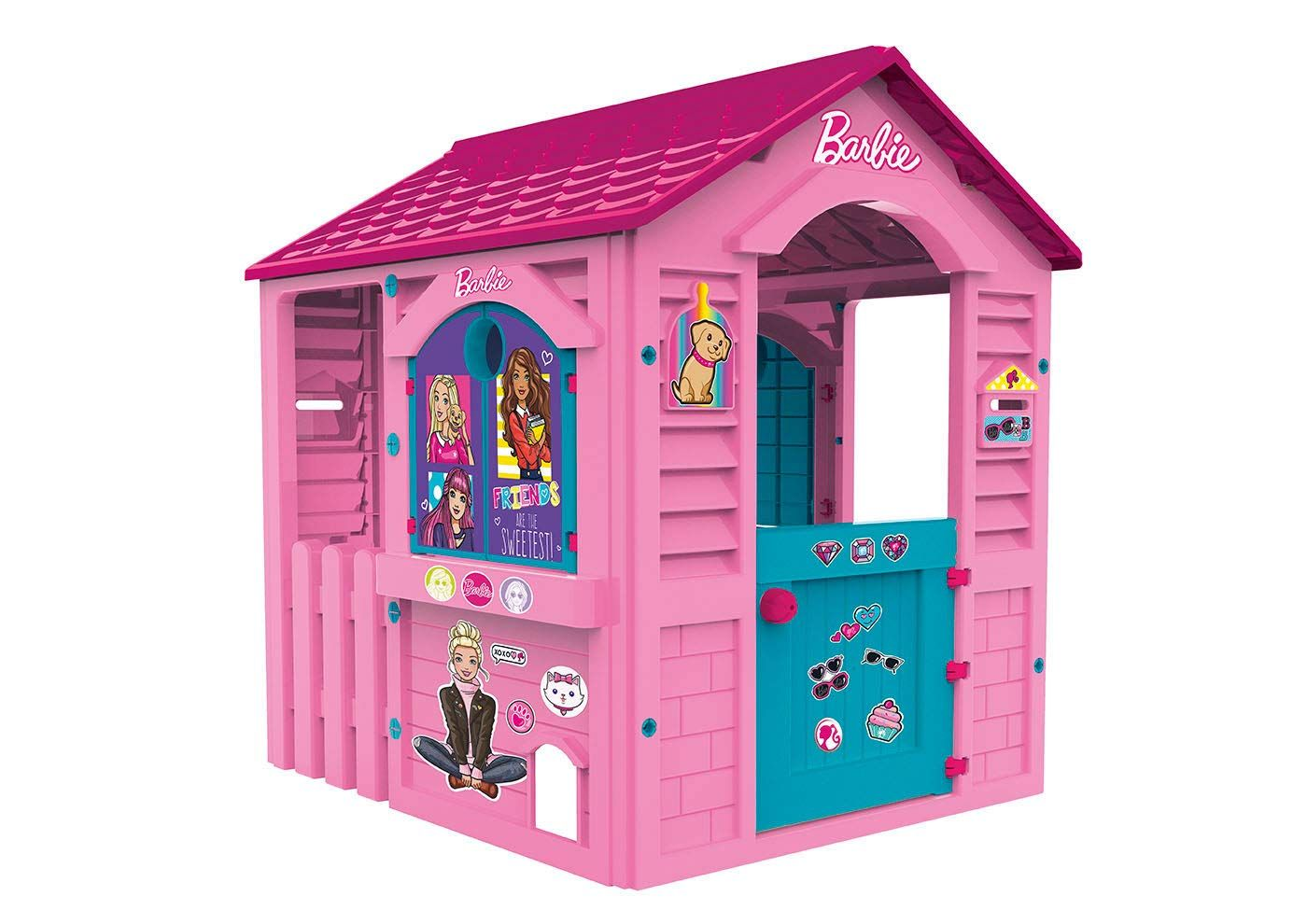Casita Infantil Barbie Para Exterior Chicos 89609 Casa De Juguete Casitas Para Niñas Casa De Plastico
