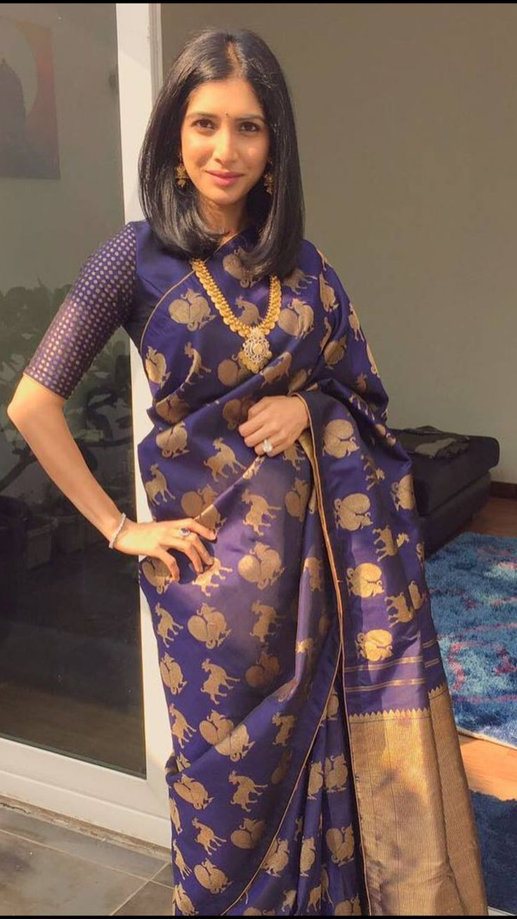 743a93c6e0fb7 Looking for traditional saree blouse designs to compliment your silk  sarees  Check these 17 amazing blouse ideas to rock your saree style.