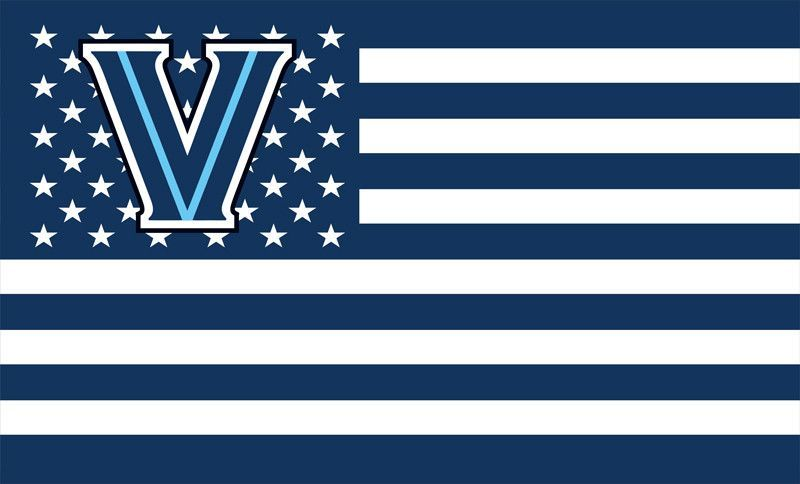 Villanova Wildcats University College House Flag