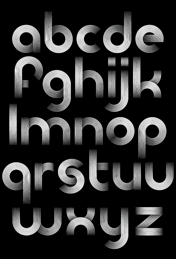 The Record Company Font Typography Alphabet Company Fonts Geometric Font
