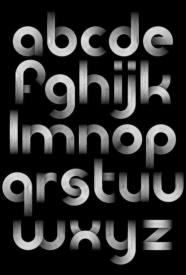 The Record Company Font Typography Alphabet Company Fonts Geometric Font