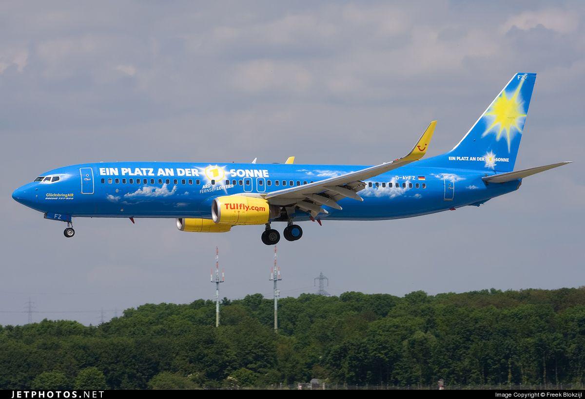 Boeing 7378K5 DAHFZ 30883 Düsseldorf RheinRuhr Int'l