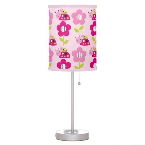 Ladybug Nursery Lamp