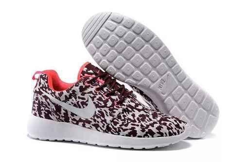 8d4ca4659cbbff Nike Roshe Run Pattern Leopard Print Red Orange - Roshe Run