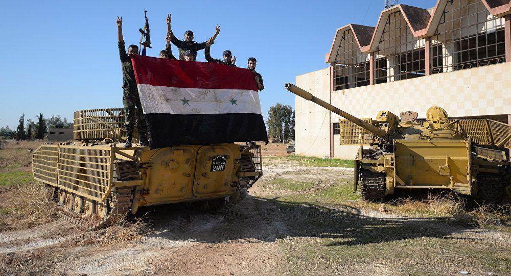 Syrian Army Pummels Terrorist Positions Following Russian Air Assaults