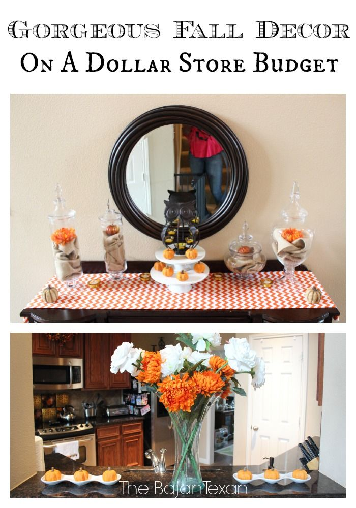 easy fall decor ideas 5 tips for decorating for fall on a budget texans budgeting and decorating. Black Bedroom Furniture Sets. Home Design Ideas