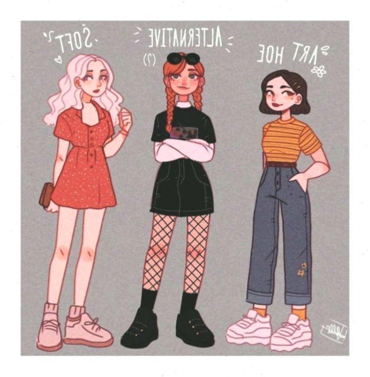 Hairstylecutecurls Anime Animeaestheticdrawing Hairstylecutecurls In 2020 Cute Art Styles Cartoon Art Styles Art Clothes