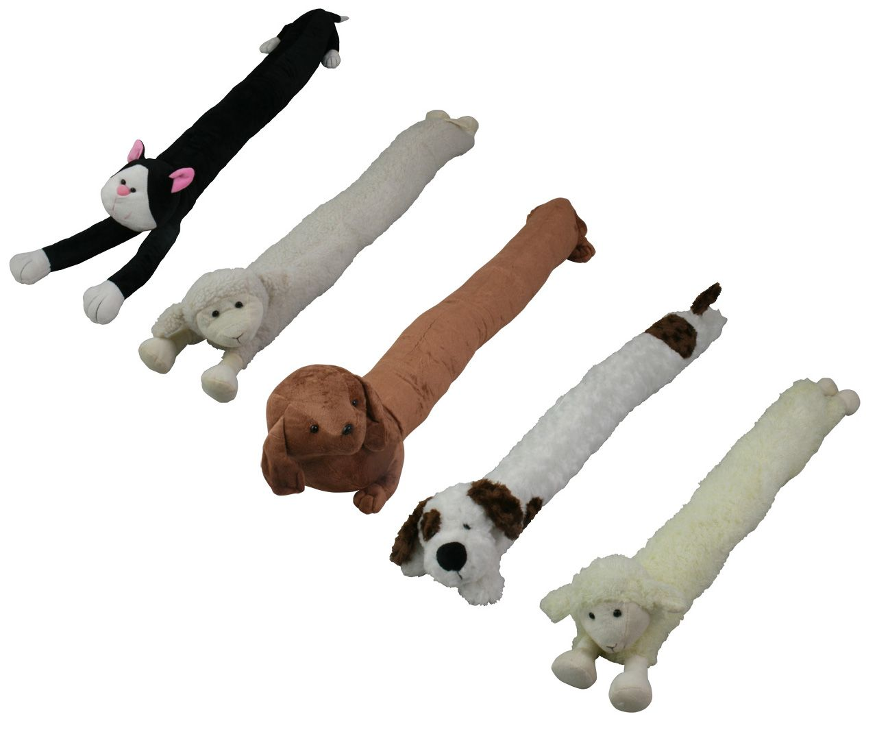 Animal Draught Excluder CAT DOG Sheep | eBay | Door draft stoppers ...