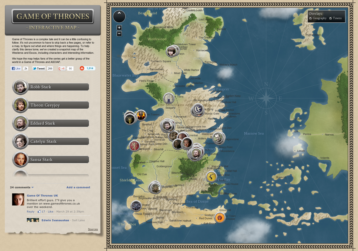This game of thrones map reveals the insane distance some this game of thrones map reveals the insane distance some characters travel travel maps gaming and songs gumiabroncs Choice Image