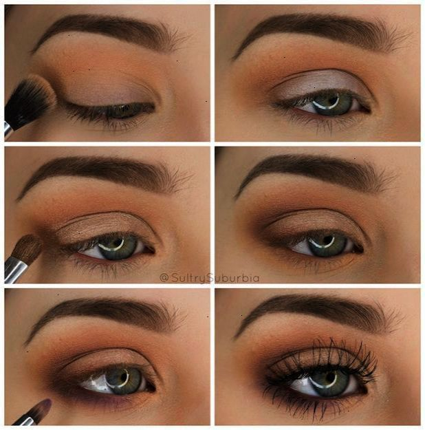 50 Makeup Tutorials For Green Eyes Simple Pretty Eye Shadow