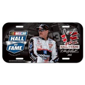 """NASCAR Dale Earnhardt Sr. Official Logo License Plate by WinCraft. $5.94. Top Quality, Manufactured by Wincraft. Officially licensed by the Dale Earnhardt Sr.. Officially licensed by the NASCAR. This collector's item features official team logo. Measures 12"""" x 6"""". Fits most standard license plates areas. Durable plastic construction with protective coating over the logos and lettering. Built to be enjoyed for years to come. A great souvinir or decorative piece. Vibrant col..."""