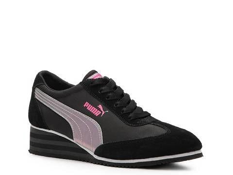 Puma Caroline Wedge Sneaker - Womens