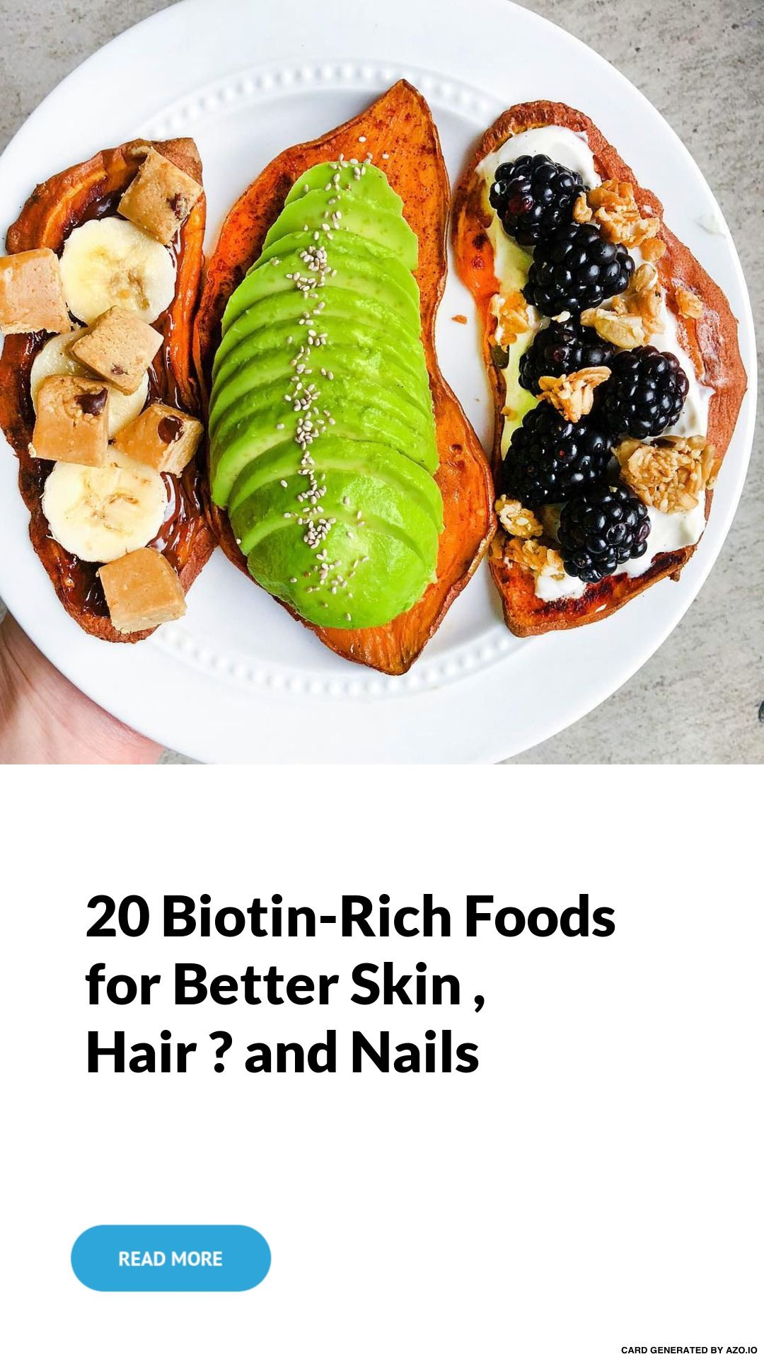 20 #Biotin-Rich 💊 #Foods 🍽 for #Better Skin 👩, #Hair 💇 ♀ and ...