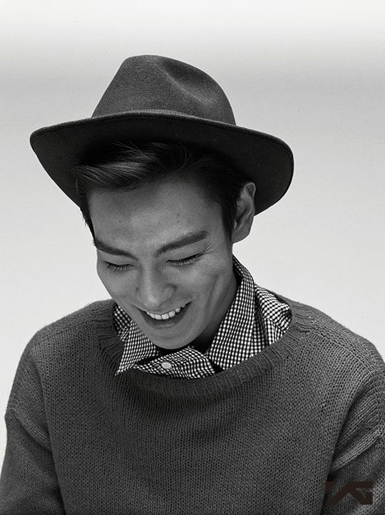 """Best cuts from T.O.P's """"From TOP"""" photo shoot in New York, shot and chosen by photographer Hong Jang Hyun"""