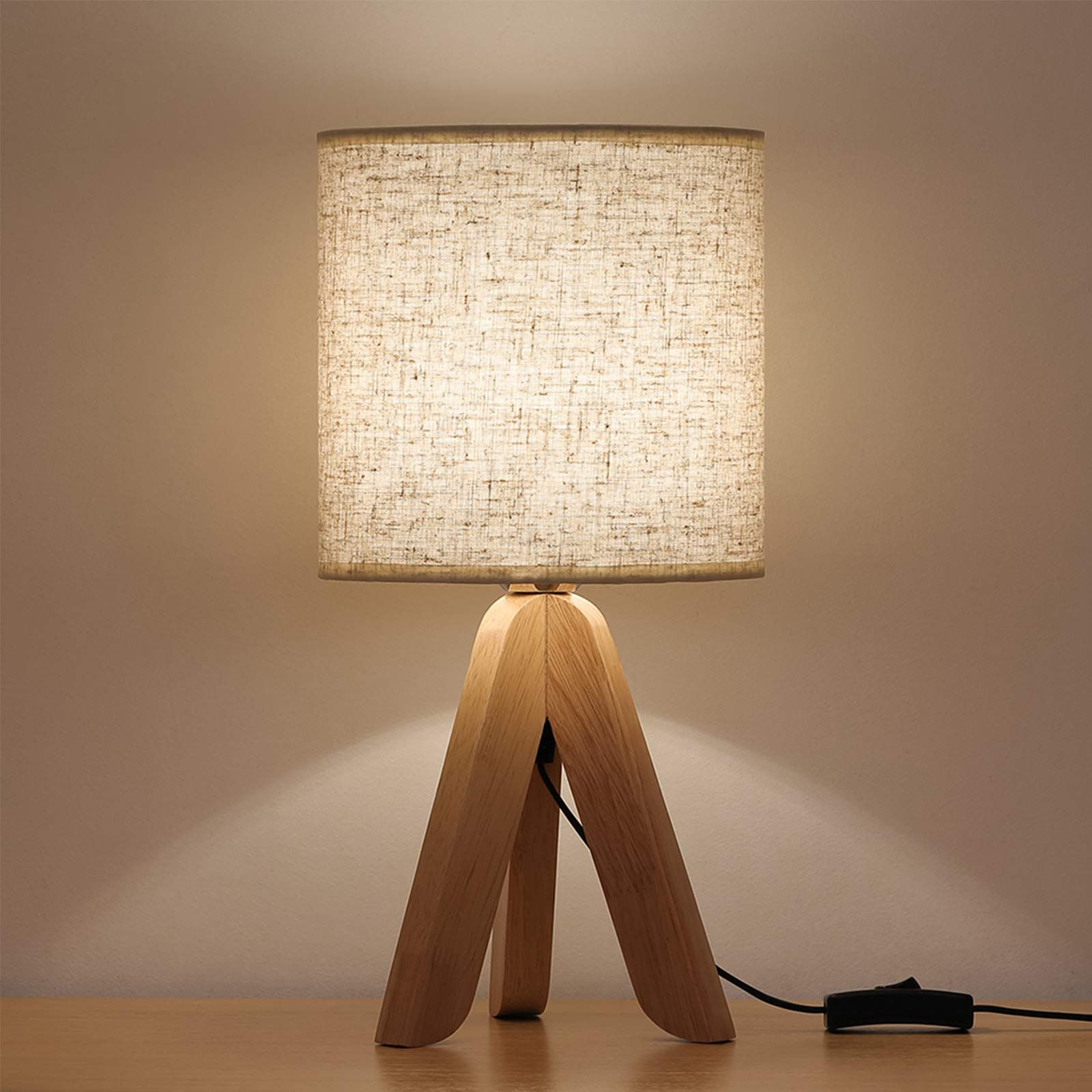 Amazon S A Treasure Trove Of Scandi Style Home Scores In 2021 Small Bedside Table Lamps Wooden Table Lamps Table Lamps For Bedroom