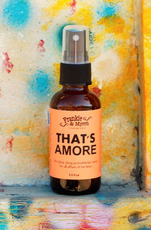 That S Amore An Ylang Ylang Aromatherapy Spray Perfume Cologne