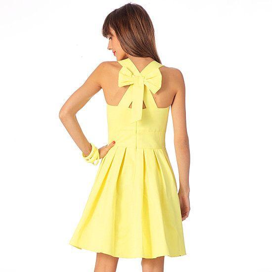 Robe jaune sinequanone