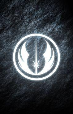 Jedi Order Star Wars Phone Wallpaper Glowing Symbol Star Wars Wallpaper Star Wars Wallpaper Iphone Star Wars Nerd