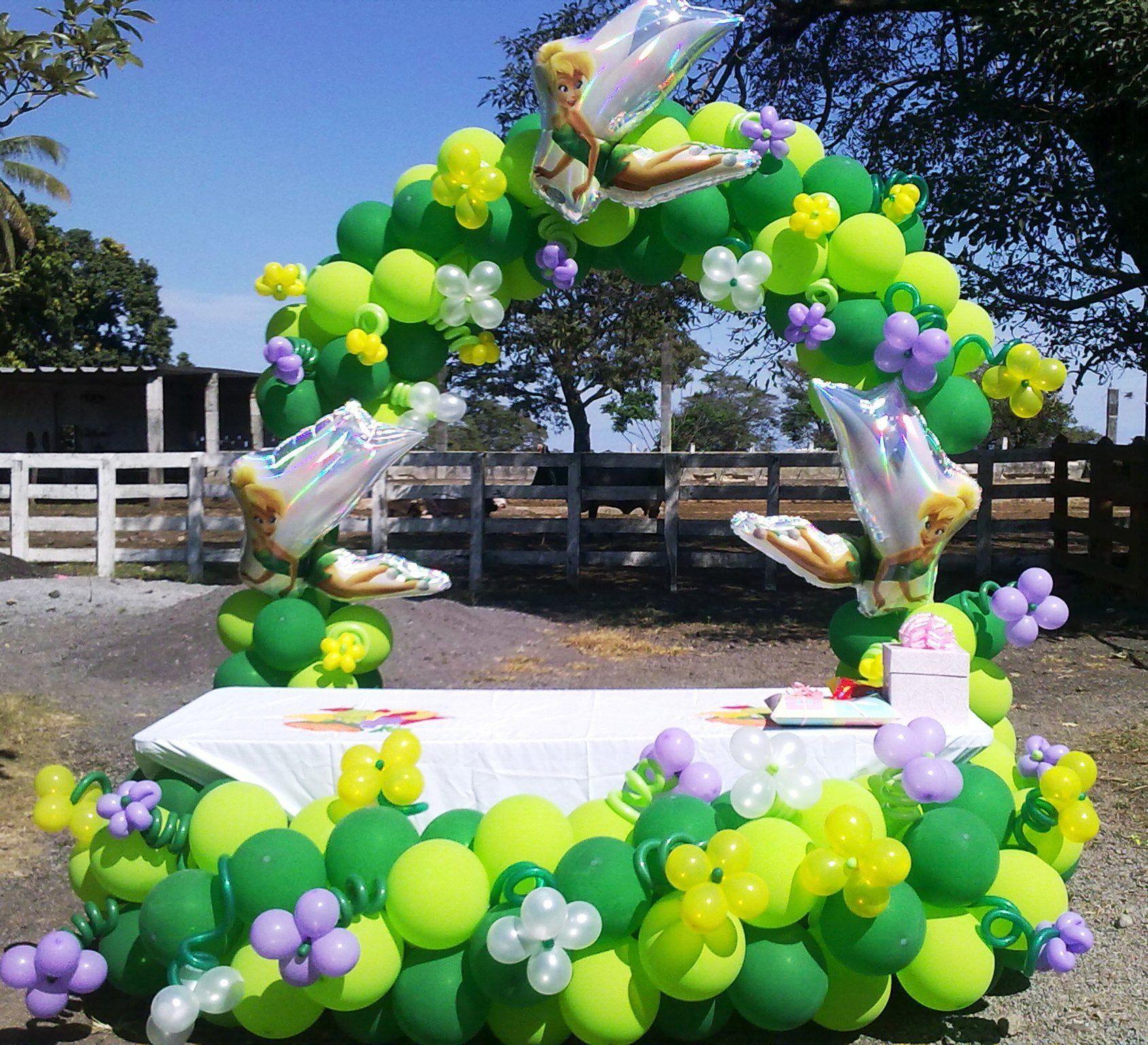 Arco Campanita Tinkerbell Party Balloon Arch Balloons