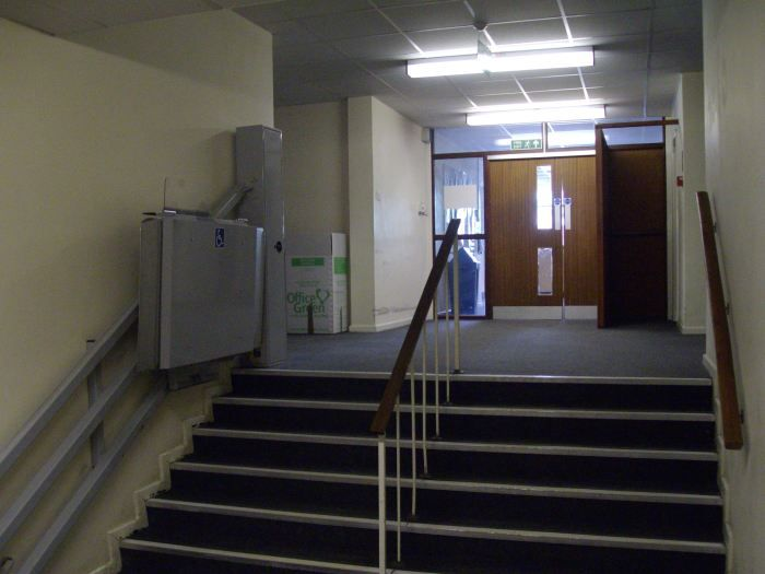 Harold Hill Grammar School Updated From My Time But The Stairs From The Main Building To The