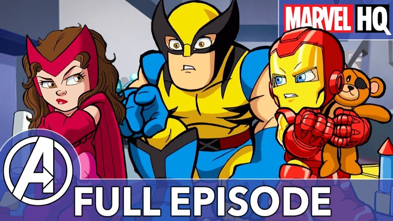 Revenge Of The Baby Sat The Super Hero Squad Show S2 Ep23 Full Episode Hero Up Superhero Greatest Villains