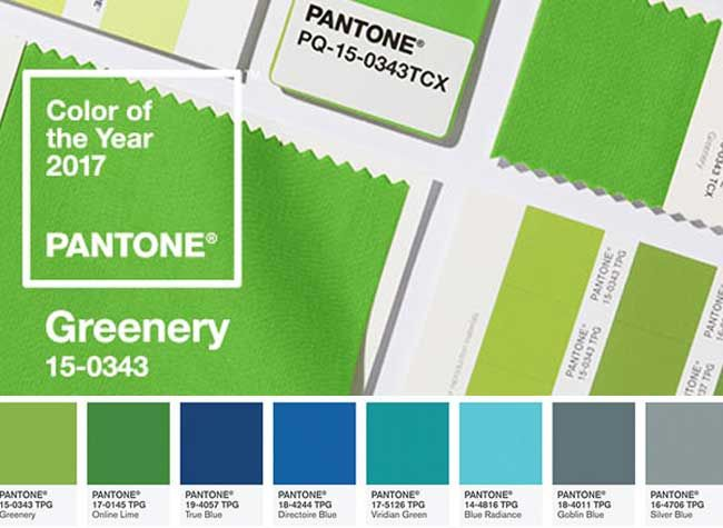 Pantone-Greenery-Couleur-Annee-2017-Vert-2 | Palette De Couleurs