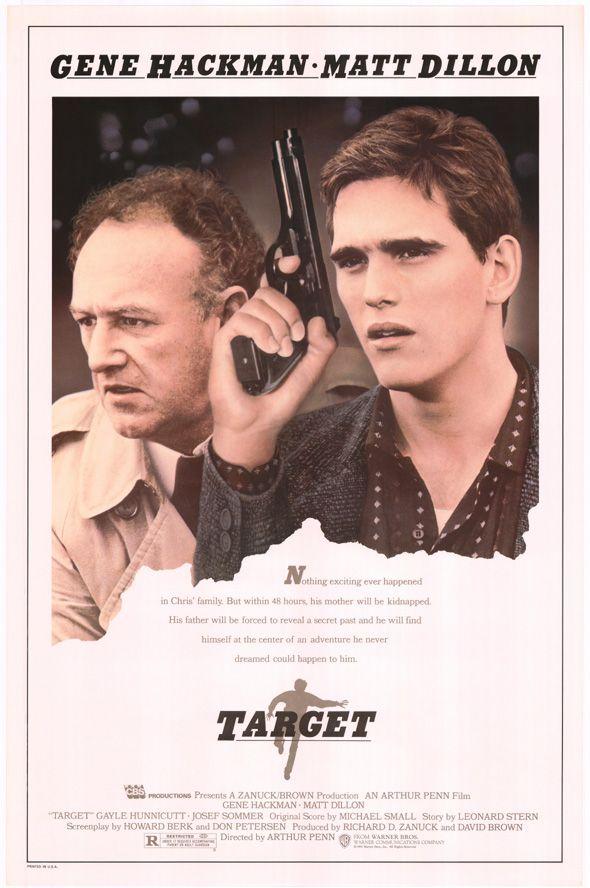 Target 1985 Stars Gene Hackman Matt Dillon Gayle Hunnicutt