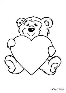 Slike Za Valentinovo Google Pretrazivanje In 2020 Valentines Day Coloring Page Printable Valentines Coloring Pages Teddy Bear Coloring Pages