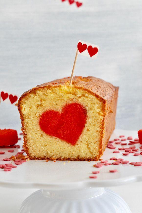 Herzkuchen Zum Valentinstag Von Diy Valentinstag Craft Ideas
