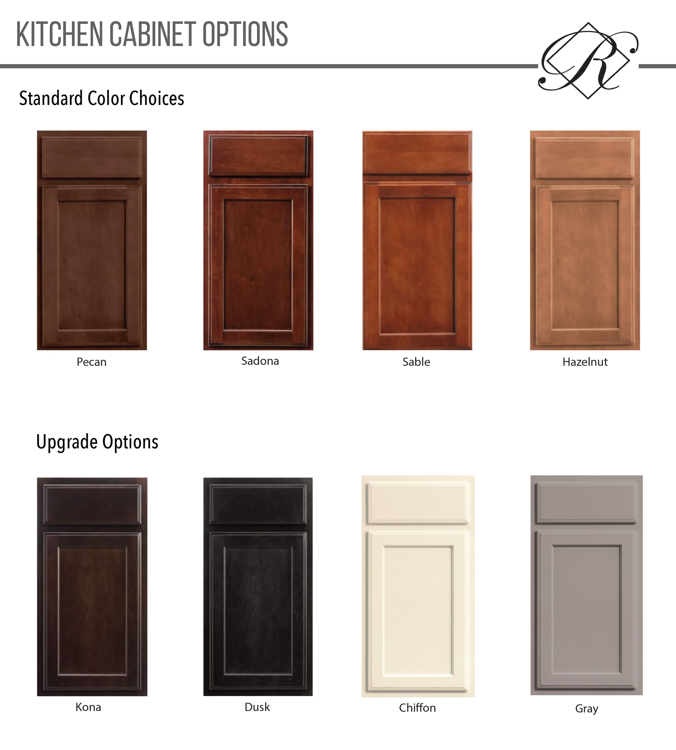 Merrilat Dusk Color Cabinets: Regency Homebuilders Cabinet Color Options, Merrilat